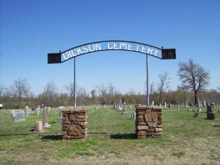 *DICKSON CEMETERY,  - Benton County, Arkansas |  *DICKSON CEMETERY - Arkansas Gravestone Photos