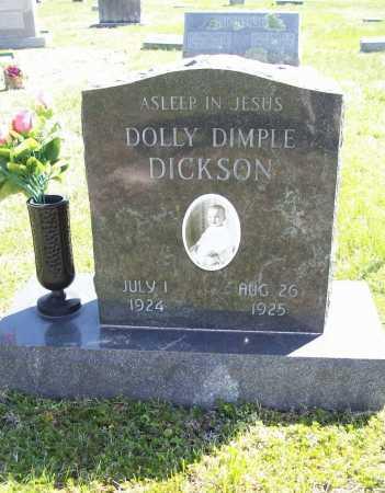 DICKSON, DOLLY DIMPLE - Benton County, Arkansas | DOLLY DIMPLE DICKSON - Arkansas Gravestone Photos