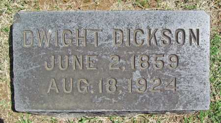 DICKSON, DWIGHT - Benton County, Arkansas | DWIGHT DICKSON - Arkansas Gravestone Photos