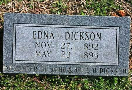 DICKSON, EDNA - Benton County, Arkansas | EDNA DICKSON - Arkansas Gravestone Photos