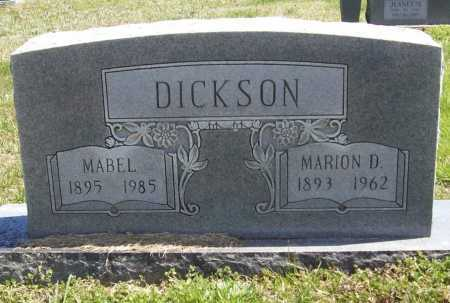 DICKSON, MABEL - Benton County, Arkansas | MABEL DICKSON - Arkansas Gravestone Photos