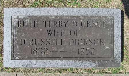 TERRY DICKSON, RUTH - Benton County, Arkansas | RUTH TERRY DICKSON - Arkansas Gravestone Photos