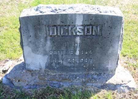 DICKSON, T. H. - Benton County, Arkansas | T. H. DICKSON - Arkansas Gravestone Photos