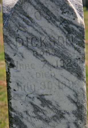 DICKSON, THOMAS P (CLOSEUP) - Benton County, Arkansas | THOMAS P (CLOSEUP) DICKSON - Arkansas Gravestone Photos