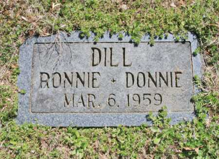 DILL, RONNIE - Benton County, Arkansas | RONNIE DILL - Arkansas Gravestone Photos