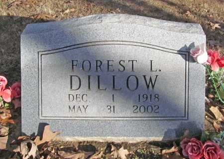 DILLOW, FOREST L. - Benton County, Arkansas | FOREST L. DILLOW - Arkansas Gravestone Photos