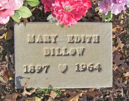 SEAMSTER DILLOW, MARY EDITH - Benton County, Arkansas | MARY EDITH SEAMSTER DILLOW - Arkansas Gravestone Photos