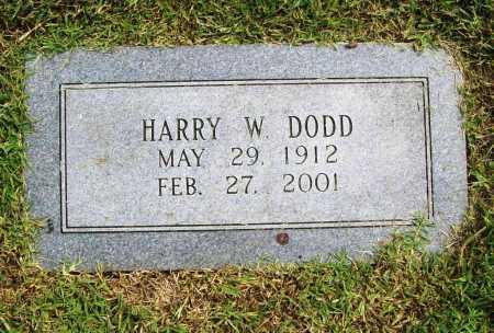 DODD, HARRY W. - Benton County, Arkansas | HARRY W. DODD - Arkansas Gravestone Photos