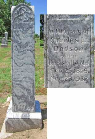DODSON, CHARLES E. - Benton County, Arkansas | CHARLES E. DODSON - Arkansas Gravestone Photos