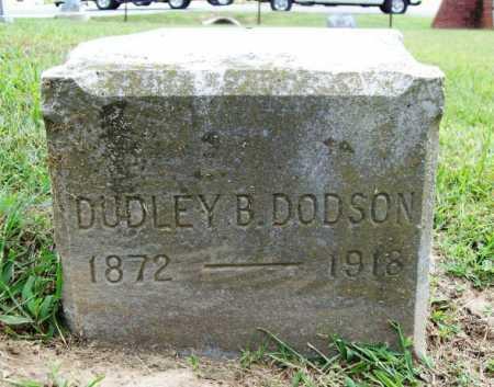 DODSON, DUDLEY B. - Benton County, Arkansas | DUDLEY B. DODSON - Arkansas Gravestone Photos