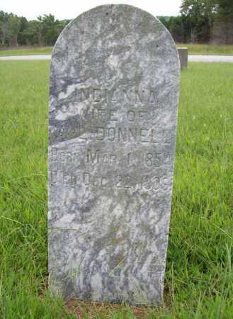 DONNELL, INDIANNA - Benton County, Arkansas   INDIANNA DONNELL - Arkansas Gravestone Photos