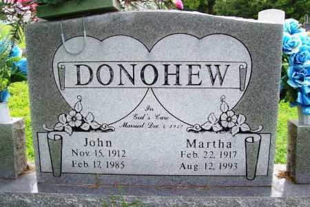 DONOHEW, MARTHA - Benton County, Arkansas | MARTHA DONOHEW - Arkansas Gravestone Photos