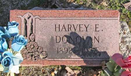 DONOVAN, HARVEY E. - Benton County, Arkansas | HARVEY E. DONOVAN - Arkansas Gravestone Photos