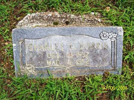 DORRIS, CHARLES E. - Benton County, Arkansas | CHARLES E. DORRIS - Arkansas Gravestone Photos