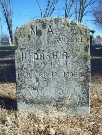 DOSHIR, M. A. - Benton County, Arkansas | M. A. DOSHIR - Arkansas Gravestone Photos