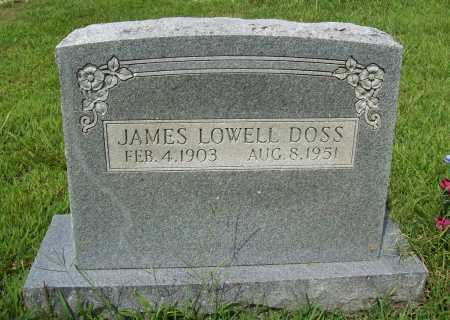DOSS, JAMES LOWELL - Benton County, Arkansas | JAMES LOWELL DOSS - Arkansas Gravestone Photos