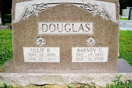 DOUGLAS, BARNEY G. - Benton County, Arkansas | BARNEY G. DOUGLAS - Arkansas Gravestone Photos