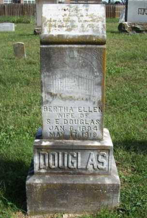DOUGLAS, BERTHA ELLEN - Benton County, Arkansas | BERTHA ELLEN DOUGLAS - Arkansas Gravestone Photos