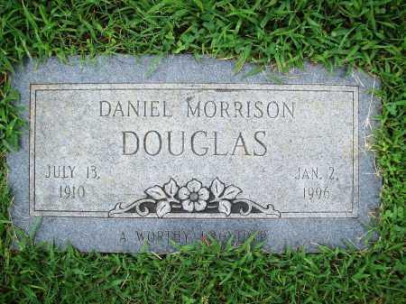 DOUGLAS, DANIEL MORRISON - Benton County, Arkansas | DANIEL MORRISON DOUGLAS - Arkansas Gravestone Photos