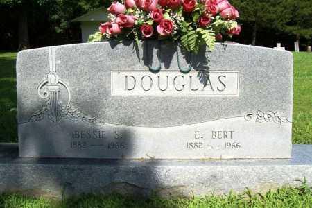 DOUGLAS, E. BERT - Benton County, Arkansas | E. BERT DOUGLAS - Arkansas Gravestone Photos