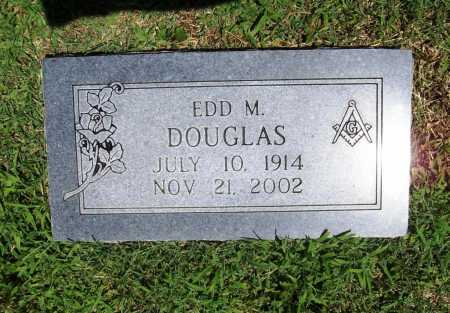DOUGLAS, EDD M. - Benton County, Arkansas | EDD M. DOUGLAS - Arkansas Gravestone Photos