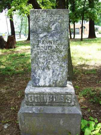 DOUGLAS, FANNIE - Benton County, Arkansas | FANNIE DOUGLAS - Arkansas Gravestone Photos