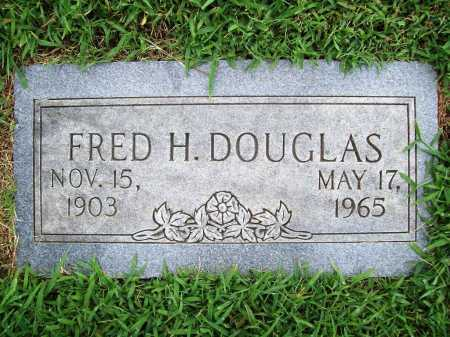 DOUGLAS, FRED HOPKINS - Benton County, Arkansas | FRED HOPKINS DOUGLAS - Arkansas Gravestone Photos