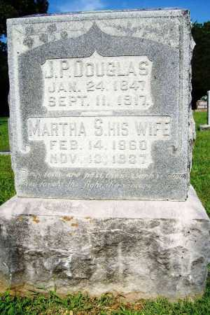 DOUGLAS, MARTHA S. - Benton County, Arkansas | MARTHA S. DOUGLAS - Arkansas Gravestone Photos