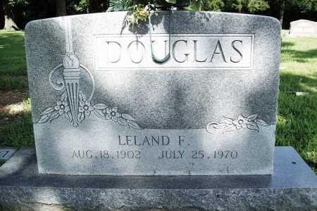 DOUGLAS, LELAND F. - Benton County, Arkansas | LELAND F. DOUGLAS - Arkansas Gravestone Photos