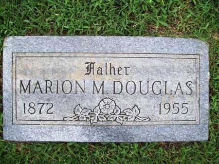 DOUGLAS, MARION M. - Benton County, Arkansas | MARION M. DOUGLAS - Arkansas Gravestone Photos