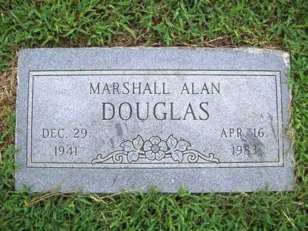 DOUGLAS, MARSHALL ALAN - Benton County, Arkansas | MARSHALL ALAN DOUGLAS - Arkansas Gravestone Photos