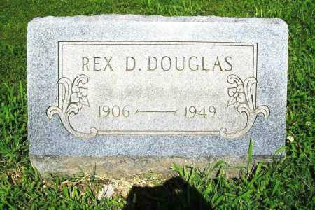 DOUGLAS, REX D. - Benton County, Arkansas | REX D. DOUGLAS - Arkansas Gravestone Photos