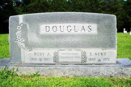 DOUGLAS, S. NEWT - Benton County, Arkansas | S. NEWT DOUGLAS - Arkansas Gravestone Photos