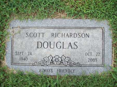 DOUGLAS, SCOTT RICHARDSON - Benton County, Arkansas | SCOTT RICHARDSON DOUGLAS - Arkansas Gravestone Photos
