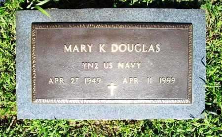 DOUGLAS (VETERAN), MARY K. - Benton County, Arkansas | MARY K. DOUGLAS (VETERAN) - Arkansas Gravestone Photos