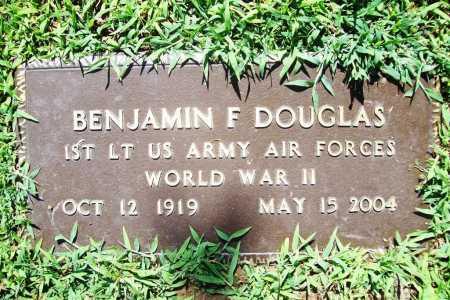 DOUGLAS (VETERAN WWII), BENJAMIN F. - Benton County, Arkansas   BENJAMIN F. DOUGLAS (VETERAN WWII) - Arkansas Gravestone Photos