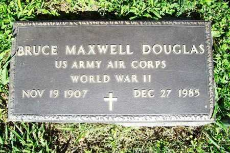 DOUGLAS (VETERAN WWII), BRUCE MAXWELL - Benton County, Arkansas | BRUCE MAXWELL DOUGLAS (VETERAN WWII) - Arkansas Gravestone Photos