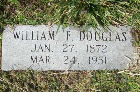 DOUGLAS, WILLIAM F. - Benton County, Arkansas | WILLIAM F. DOUGLAS - Arkansas Gravestone Photos