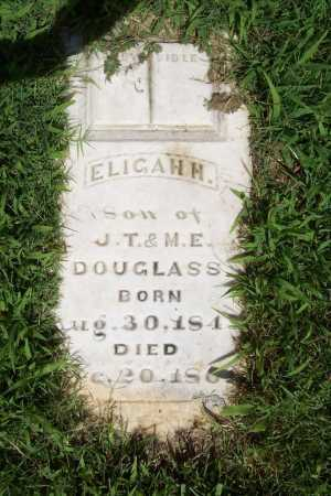 DOUGLASS, ELIGAH H. - Benton County, Arkansas | ELIGAH H. DOUGLASS - Arkansas Gravestone Photos