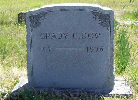 DOW, GRADY C. - Benton County, Arkansas | GRADY C. DOW - Arkansas Gravestone Photos