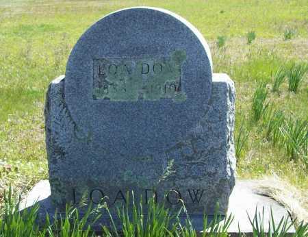 DOW, LOA - Benton County, Arkansas   LOA DOW - Arkansas Gravestone Photos