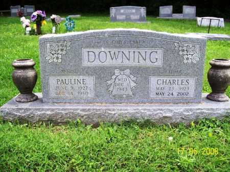 DOWNING, CHARLES CRAWFORD - Benton County, Arkansas | CHARLES CRAWFORD DOWNING - Arkansas Gravestone Photos