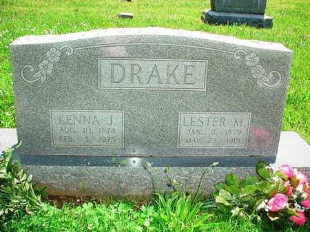 DRAKE, LENNA J. - Benton County, Arkansas | LENNA J. DRAKE - Arkansas Gravestone Photos