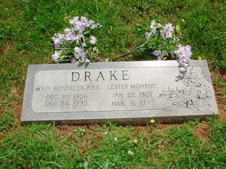 DRAKE, MARY BONNELYN - Benton County, Arkansas | MARY BONNELYN DRAKE - Arkansas Gravestone Photos