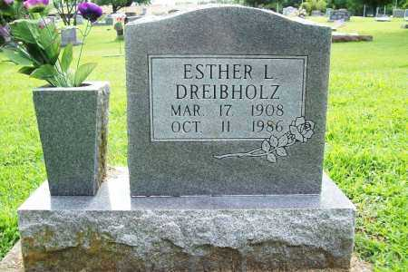 DREIBHOLZ, ESTHER L. - Benton County, Arkansas | ESTHER L. DREIBHOLZ - Arkansas Gravestone Photos