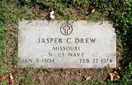 DREW (VETERAN), JASPER C - Benton County, Arkansas | JASPER C DREW (VETERAN) - Arkansas Gravestone Photos