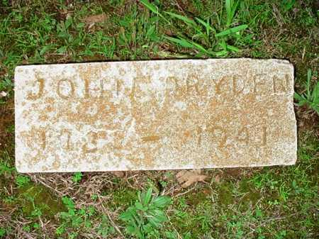 DRYDEN, JOHN - Benton County, Arkansas | JOHN DRYDEN - Arkansas Gravestone Photos