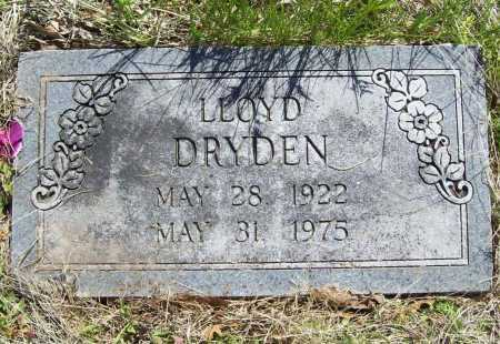 DRYDEN, LLOYD - Benton County, Arkansas | LLOYD DRYDEN - Arkansas Gravestone Photos