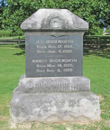 DUCKWORTH, J P - Benton County, Arkansas | J P DUCKWORTH - Arkansas Gravestone Photos