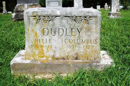DUDLEY, COLUMBUS - Benton County, Arkansas | COLUMBUS DUDLEY - Arkansas Gravestone Photos